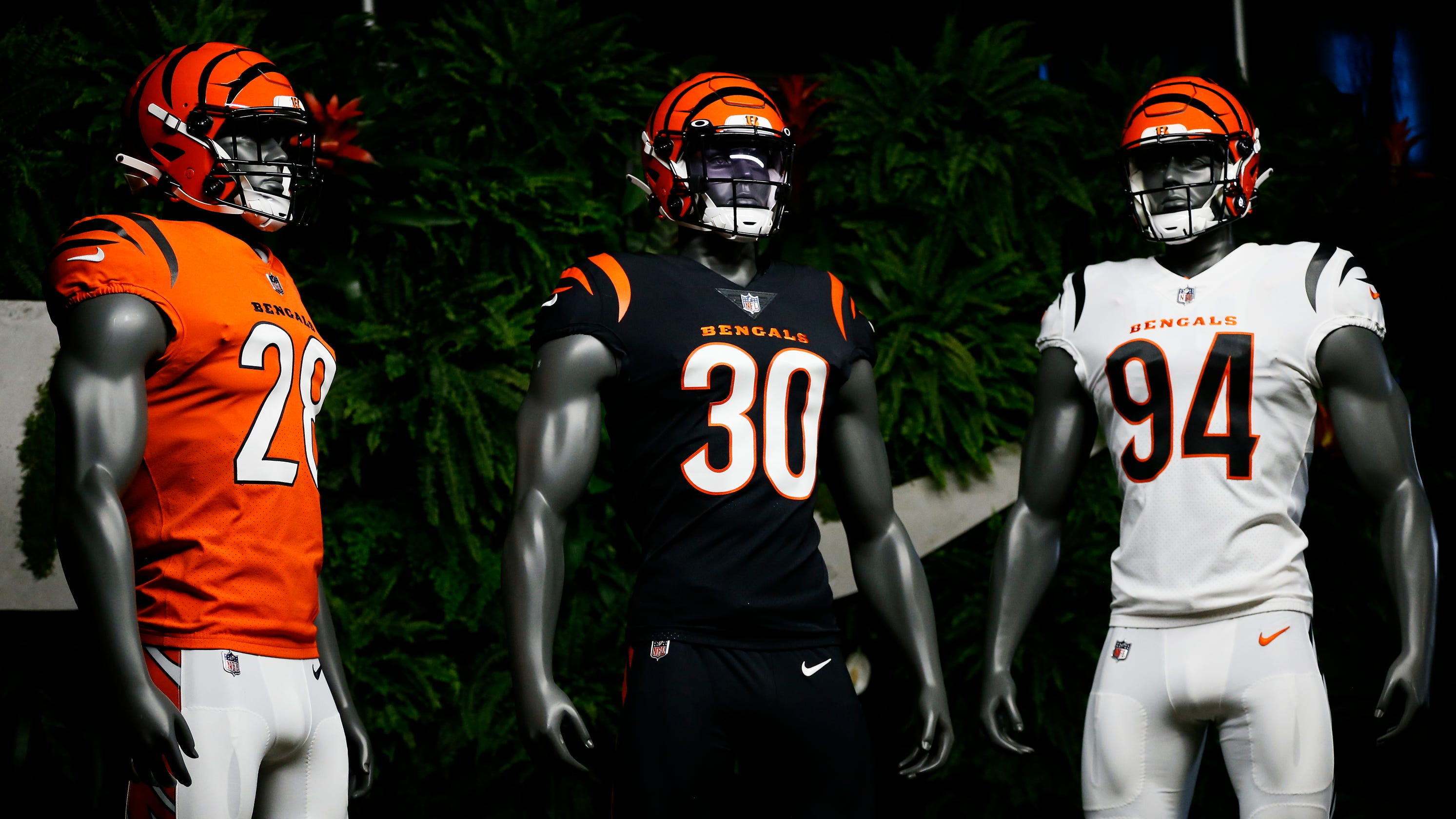 Cincinnati Bengals unveil new uniforms for 2021 season
