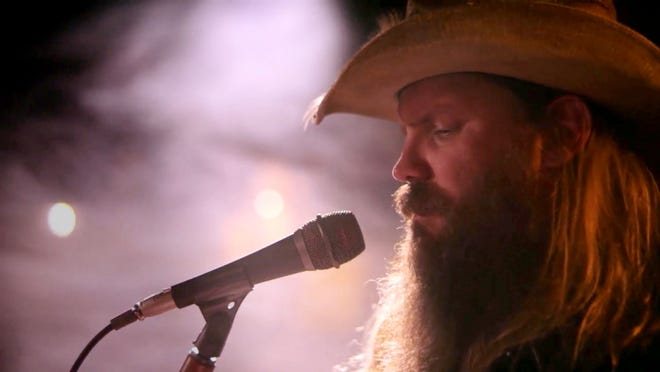 """Chris Stapleton performs during """"A Grammy Salute to the Sounds of Change."""""""