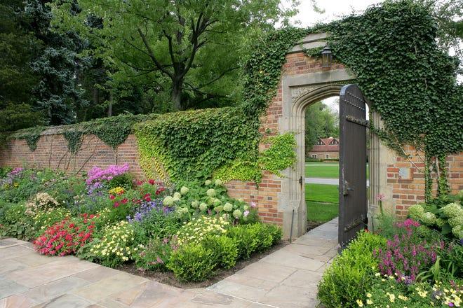Meadow Brook Hall's Walled Garden.