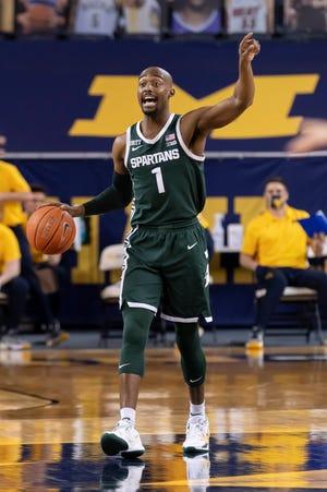 Michigan State guard Joshua Langford says his basketball-playing career is over.