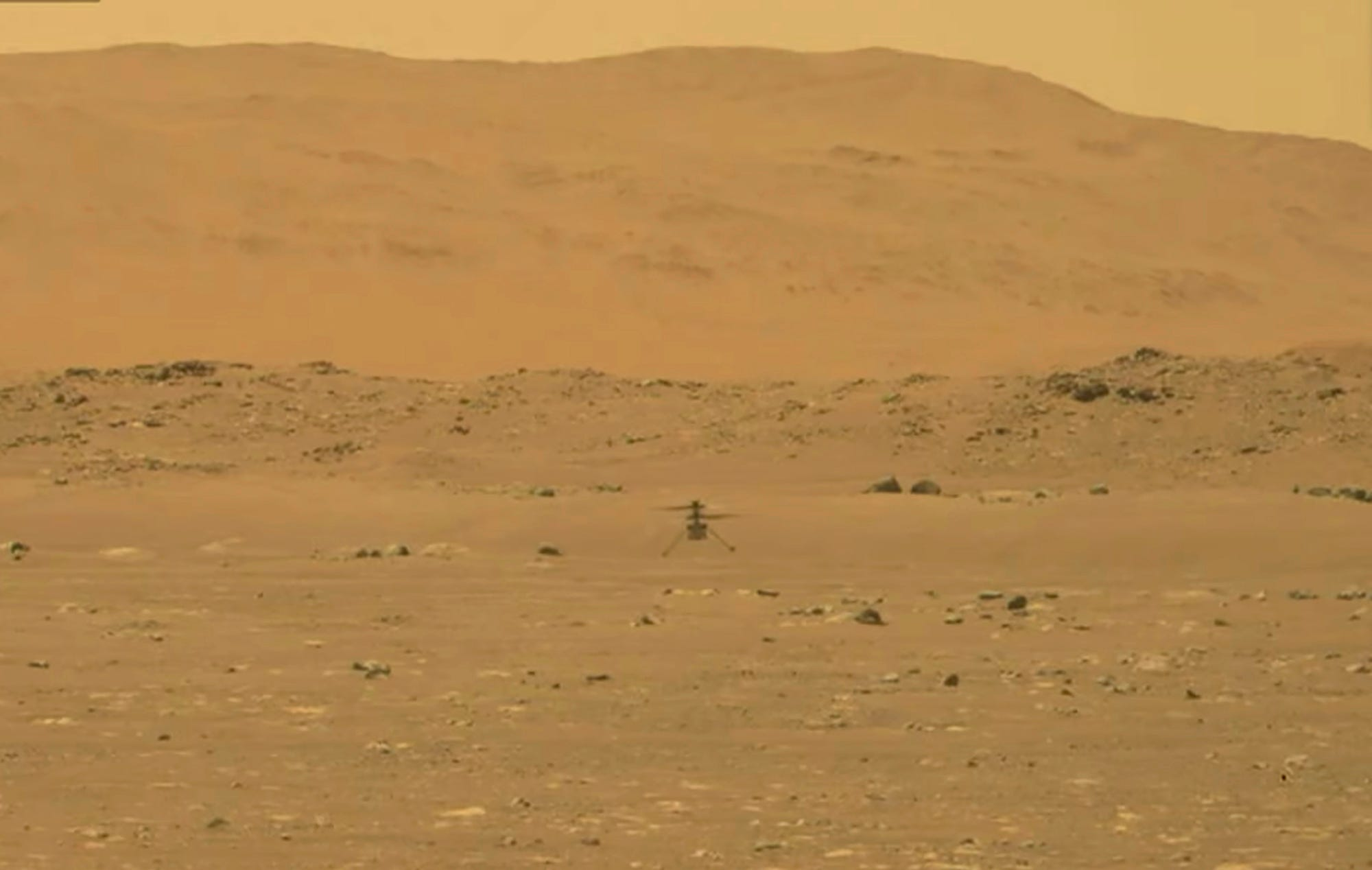 NASA's Mars helicopter takes flight, 1st for another planet 1