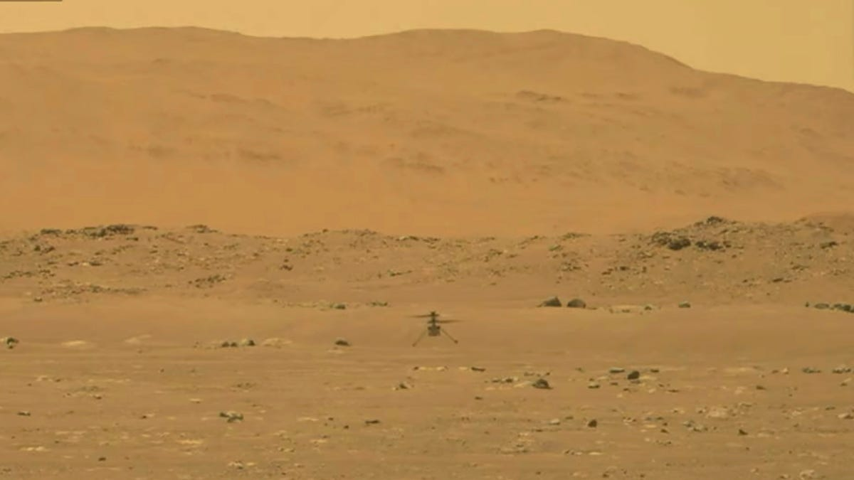 NASA's Mars helicopter takes flight, 1st for another planet 2