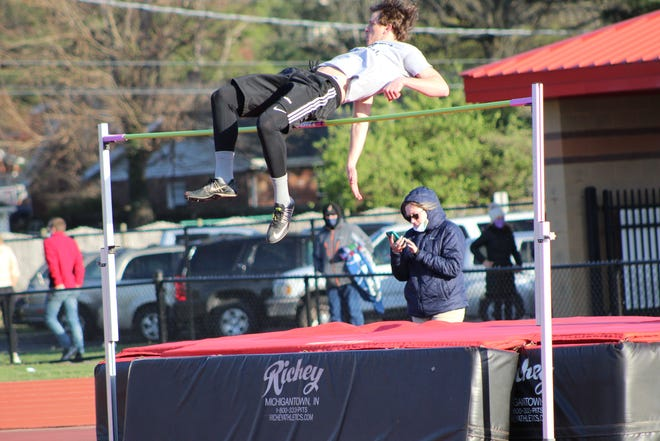 Reitz's Ethan Higgs has high jumped 6 feet, 7 inches and long jumped 21-6 entering the City meet Thursday and Friday at Central Stadium.