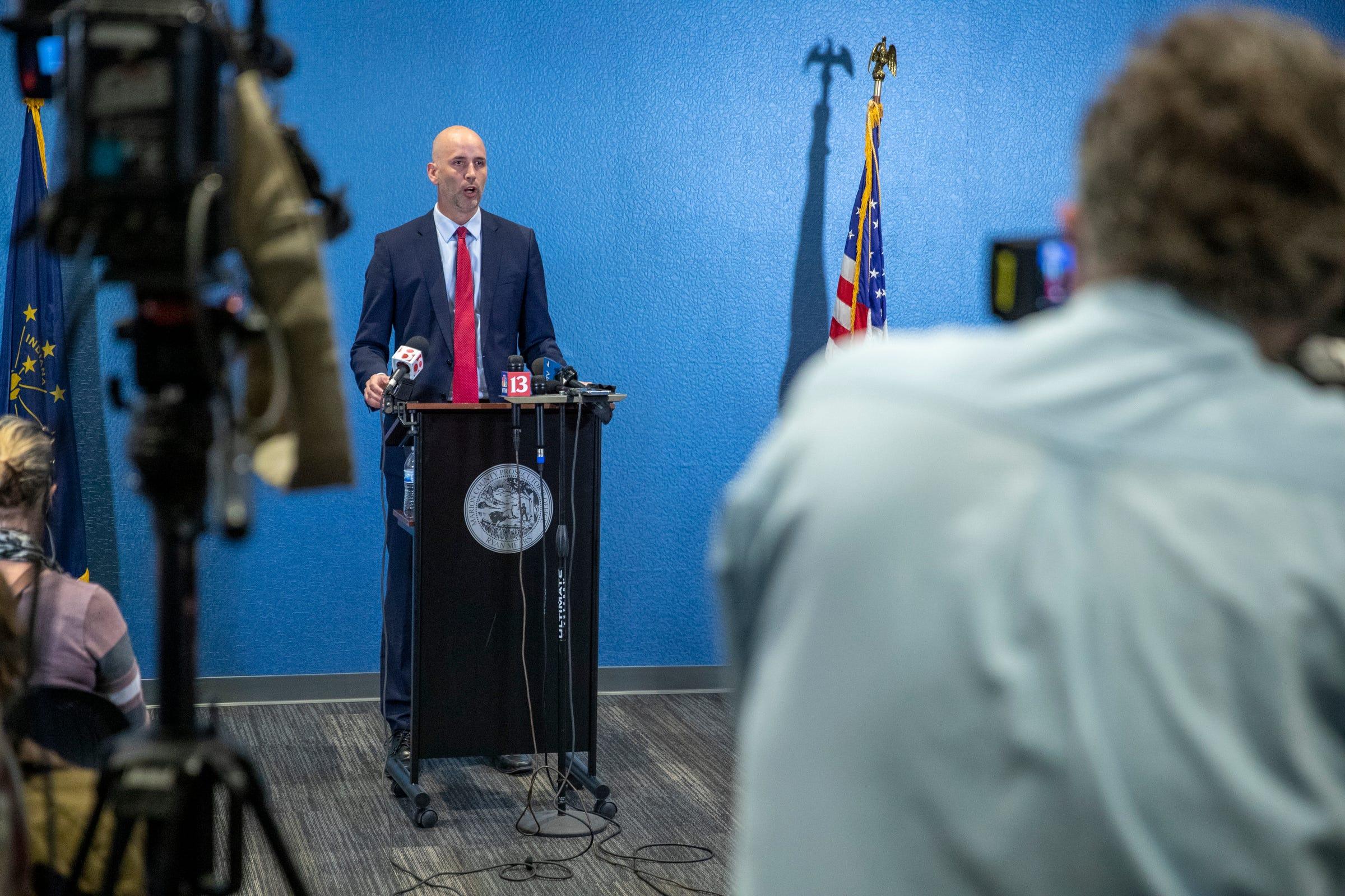 Prosecutor Ryan Mears discusses the FedEx shooting, Brandon Scott Hole