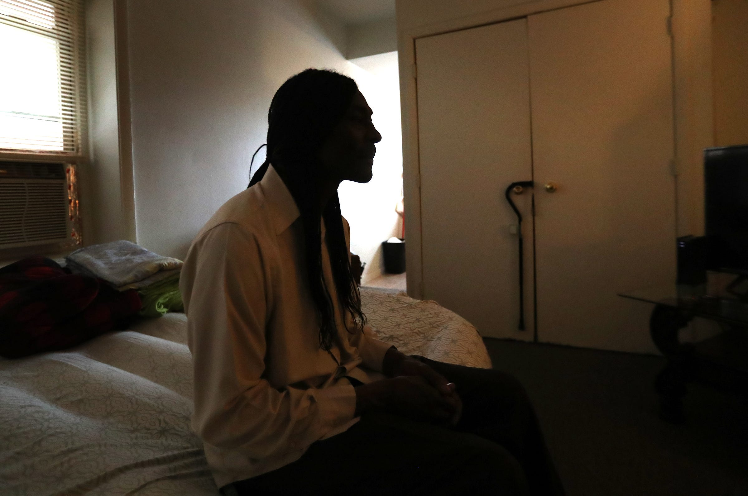 Possible eviction brings Indy man a sinking feeling