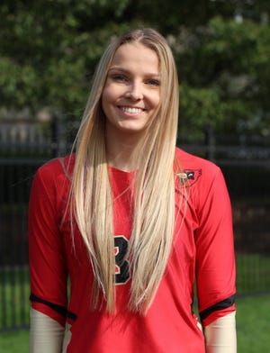 Former Fairfield Union and now Otterbein University volleyball standout, Morgan Hartman, was named Ohio Athletic Conference Freshman of the Year.