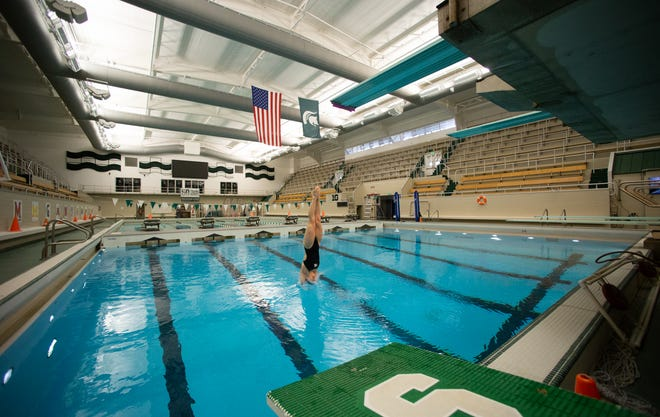 Built in 1958, McCaffree Pool remains at the center of the discussion over whether the Michigan State swimming and diving program can continue.