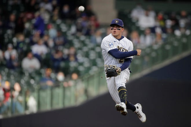 Luis Urias has been the Brewers' everyday shortstop since Orlando  Arcia was traded April 6.