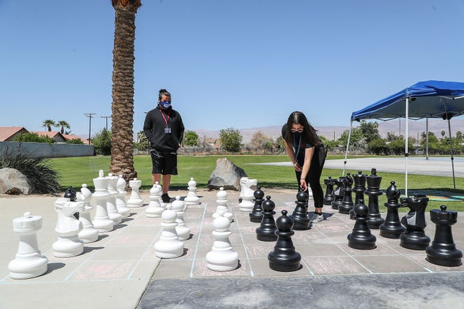 Surveys are available online and at numerous locations, including the Indio Teen Center, pictured here.