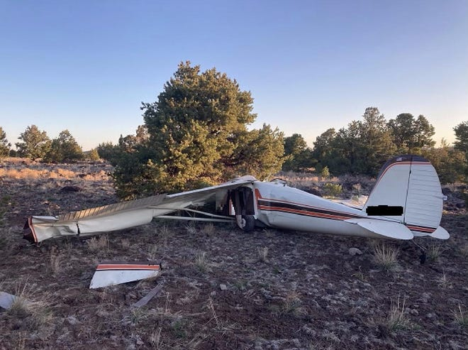 Authorities said two people were found dead at the scene of a plane crashnear Williams on April 19, 2020.