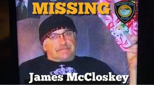 A body identified as missing man James McCloskey was pulled from the Colorado River by authorities on April 17, 2021.