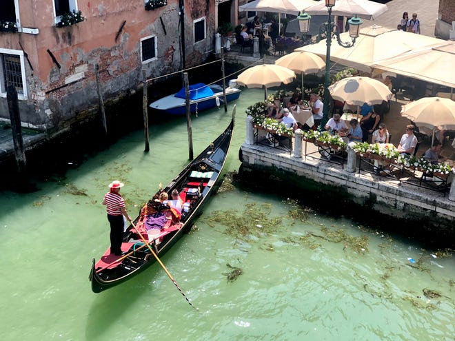 Kimball Township resident and travel agent Theresa Winters often researches countries by visiting them. This photo is from a Venice solo trip for client research.
