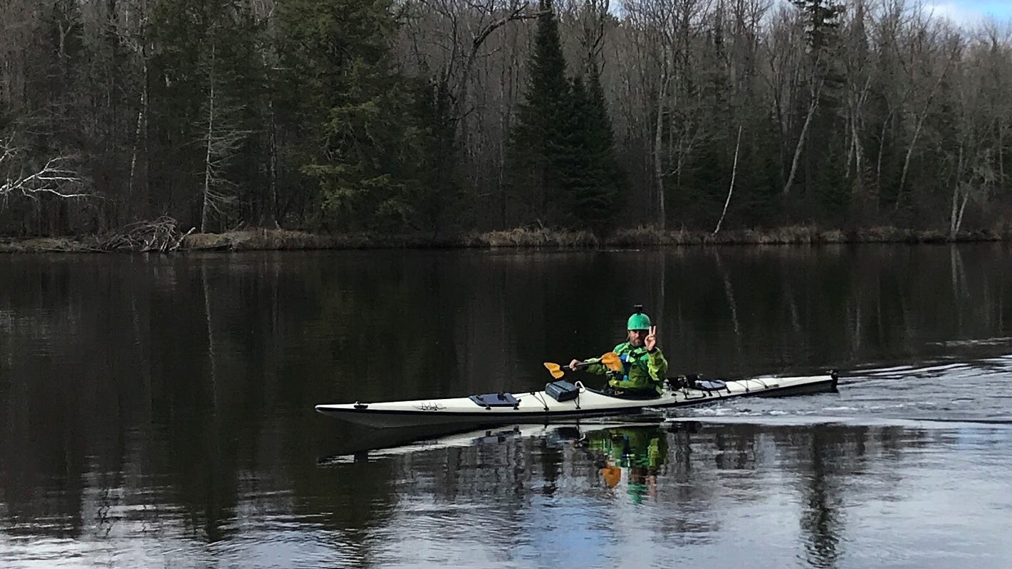 This kayaker wanted a Wisconsin River record. Instead, he found despair, euphoria and his limit.