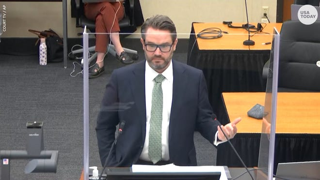 Defense attorney Eric Nelson argued that Derek Chauvin's actions were 'reasonable' during the closing arguments in the trial of the former Minneapolis police officer.