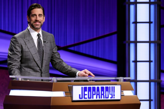 "Aaron Rodgers spent two weeks as guest host of ""Jeopardy!"""