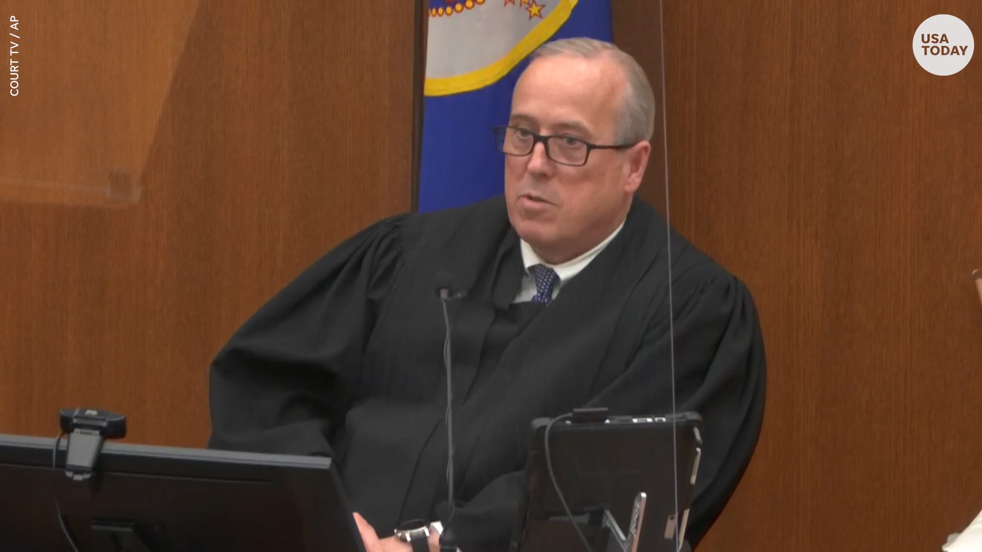 Chauvin Trial Judge Calls on Representative Maxine Waters for Comment, Denies Quash Request