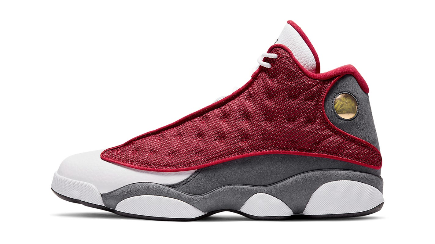 Jordan Brand releasing Air Jordan 13 'Red Flint' after shoe took off in 2020