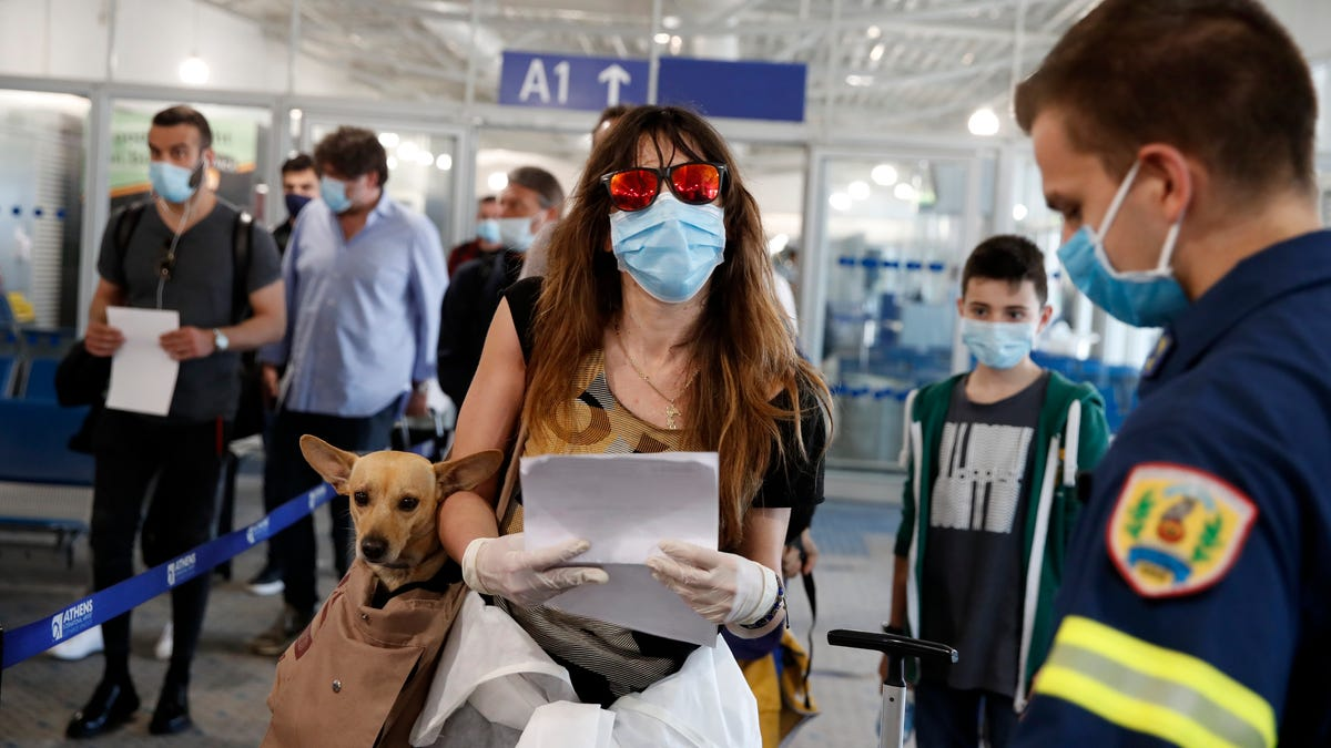 CDC says travelers should avoid Greece, Ireland and other destinations, regardless of vaccination status
