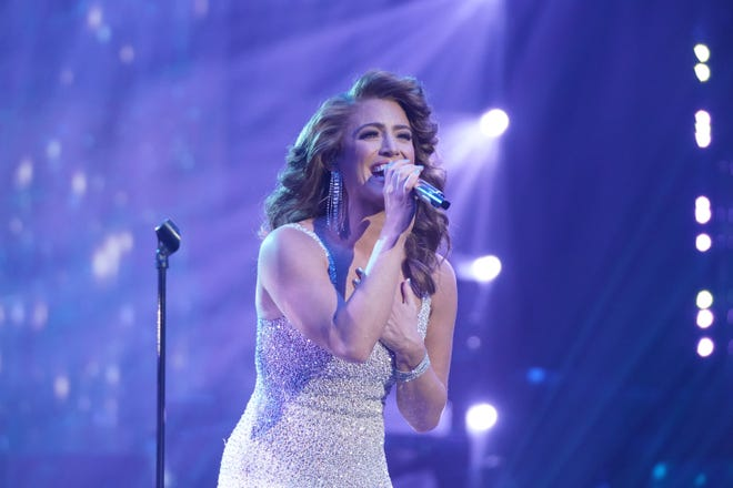 """Madison Watkins, 25, who was saved by the judges last week after not earning enough votes, was ready to prove she belongs in the competition with Whitney Houston's """"Run to You""""from the 1987 film """"The Bodyguard."""""""