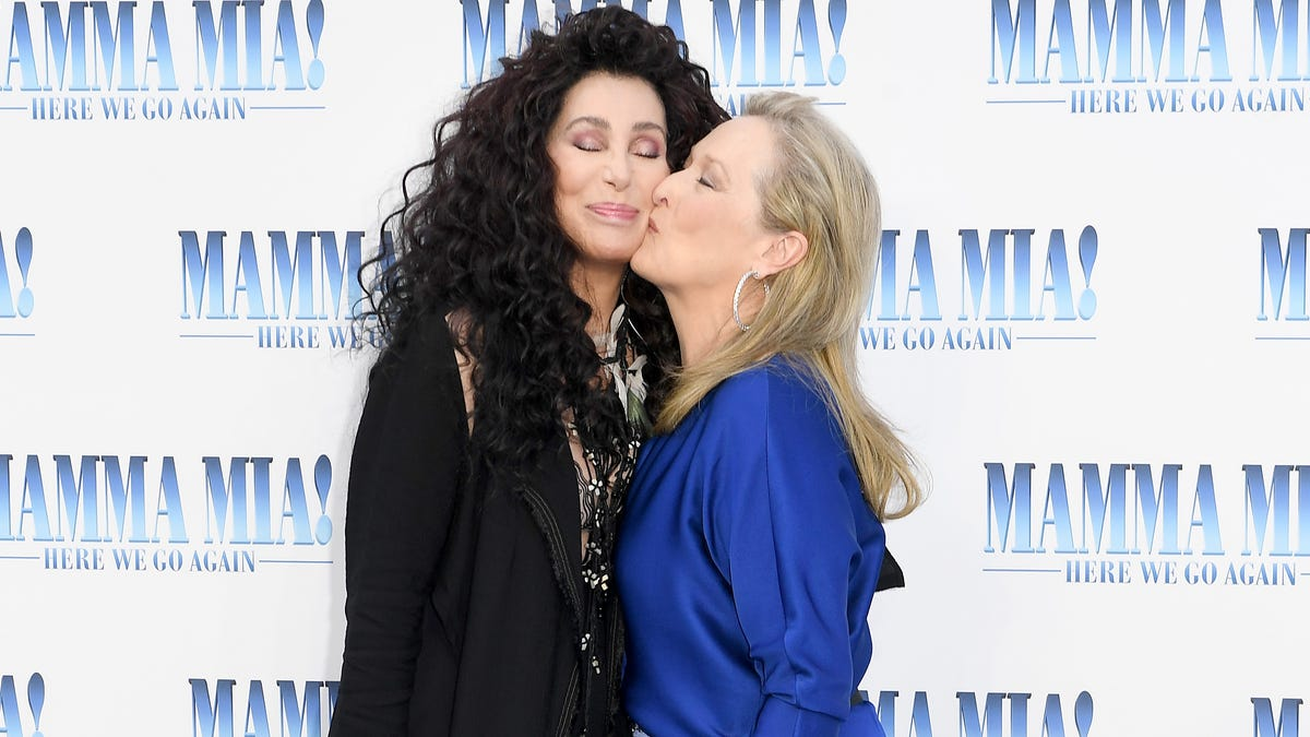 Cher talks activism, 'Moonstruck' and her pitch for 'Mamma Mia 3': Meryl Streep 'as a ghost'