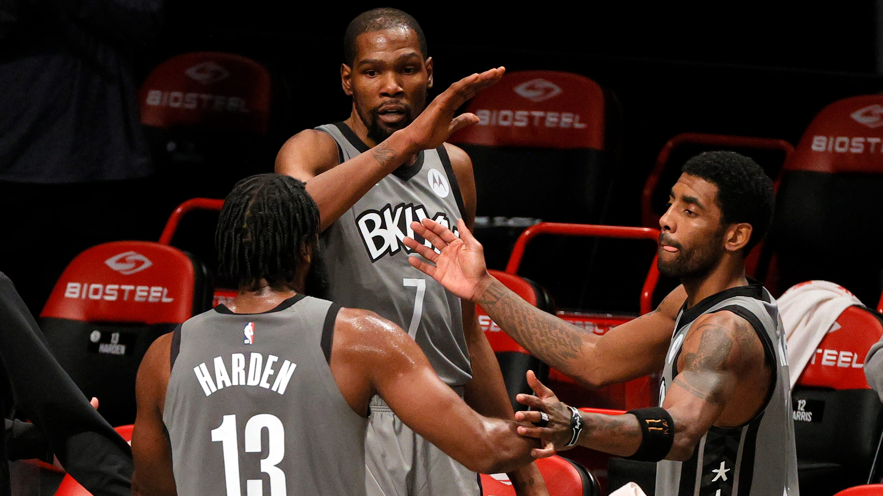 How far can Nets go if Kevin Durant, James Harden, Kyrie Irving aren't all healthy?