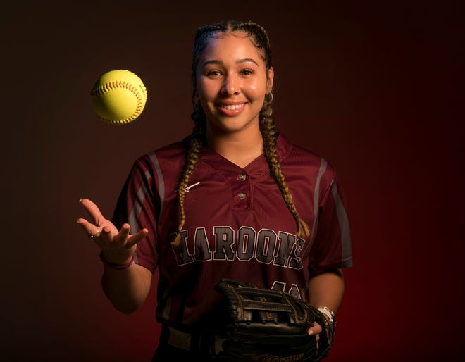 Jayda LaFluer and the Austin High softball team knocked off San Marcos and Hays last week to move into third pace in the District 26-6A race.