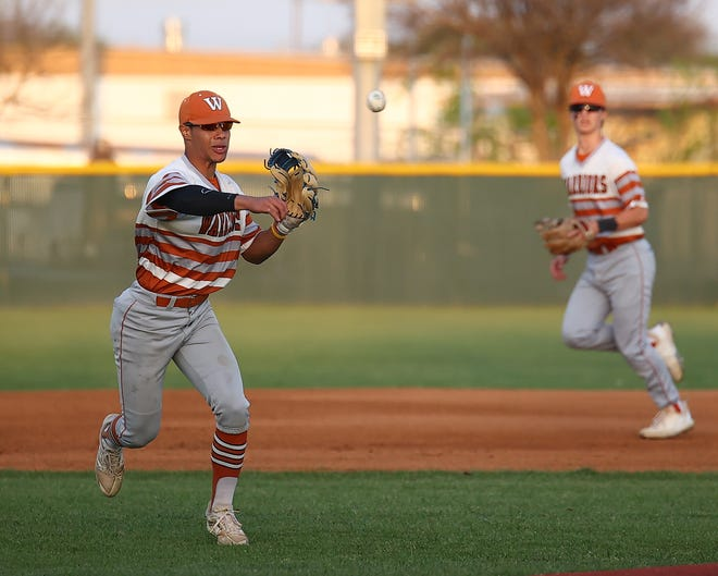 Josh Astacio, a senior infielder for Westwood, went 6-for-7 in the Vandegrift series to help the Warriors to two crucial wins in District 25-6A.