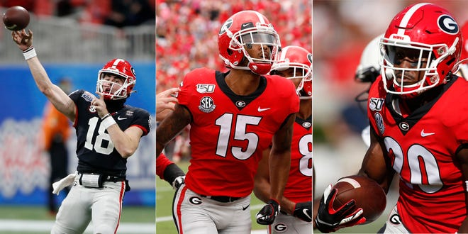 Quarterback J.T. Daniels, wide receiver Lawrence Cager and safety J.R. Reed are among top transfers to play at UGA under coach Kirby Smart.