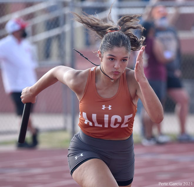 Alice runners competed at the District 31-4A meet in Alice on April 6.