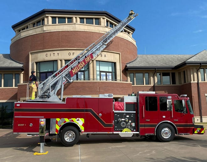 In 2021, the Melissa Fire Department added a quint or five-in-one vehicle to its lot of service equipment