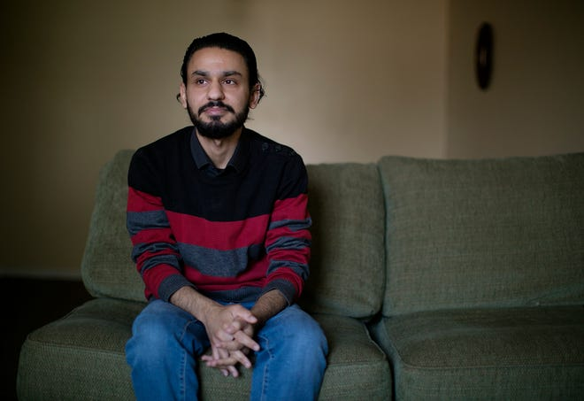 Mohamad Khawanda has been waiting for two years for his family to join him in Columbus. He is a Syrian refugee and his family is in Egypt as they wait to come here. On Friday, President Joe Biden recently announced that he wouldn't raise the annual cap for refugees from Trump's historic low of 15,000, but a new cap is expected May 15.