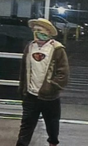 Security image of the shoplifting suspect.