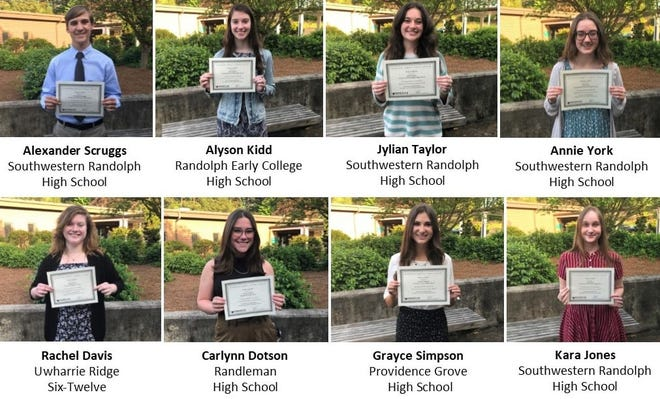 Nine high school students in the county were selected to participate Governor's School program.