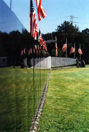 A half-size replica of the Vietnam Veterans Memorial in Washington, D.C., the Moving Wall will make a stop at the Monroe County Fairgrounds in Woodsfield on June 3-7. The wall has been traveling across the United States since it was first displayed in October 1984  in Tyler, Texas.