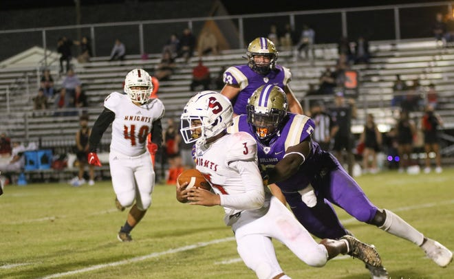 Ascension Catholic defensive lineman J'Mond Tapp was a first-team LFCA All-State selection in Class 1A.