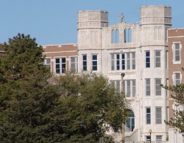 Thomas More Prep-Marian has served the community for more than a century. Notable alumni include former Kansas Gov. Jeff Colyer.