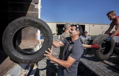 Ottawa County residents can dispose of used tires at the Ottawa Conservation District's tire collection, beginning at 9 a.m. Saturday, July 31, at the Ottawa County Road Commission, 12150 Ransom St.