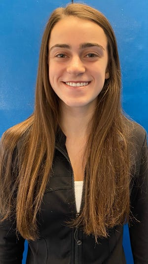 Chloe Ashmont of Marshfield High has been named to The Patriot Ledger All-Scholastic Gymnastics Team.