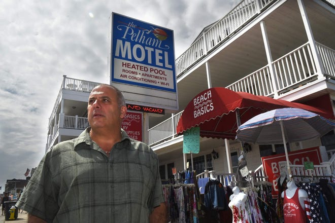 """Chuck Rage, owner of the Pelham Hotel at Hampton Beach, is in """"desperate need of workers. Tell anyone looking for a job to come to Hampton Beach."""""""
