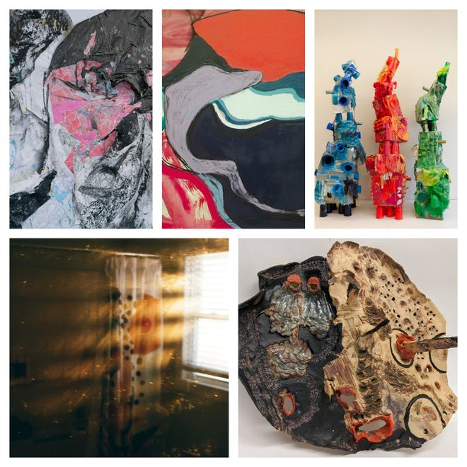 A new exhibit, The Senior Bachelor of Arts and Bachelor of Fine Arts, will be on view at the Museum of Art at UNH through May 20.