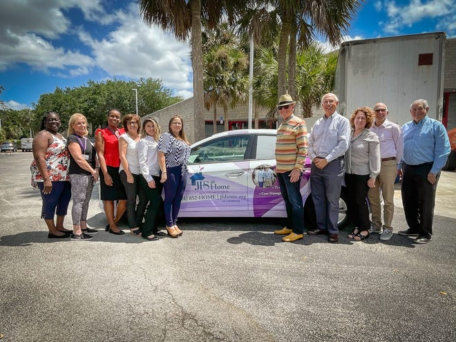 The staff and board members of JFS at Home, a Boca Raton-based home-care service for seniors.