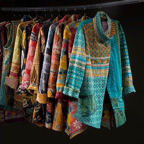 Vestes conçues par Liz Howland.