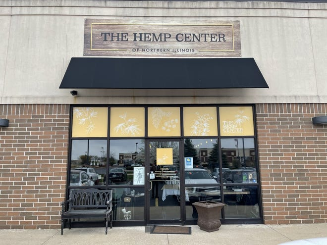 The Hemp Center of Northern Illinois celebrated its two-year anniversary on Tuesday.