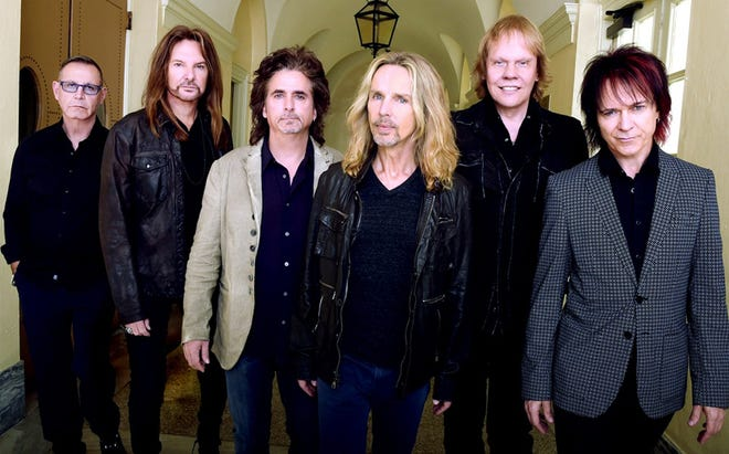Styx will perform at the St. Augustine Amphitheatre at 7:30 p.m. June 16. Tickets go on sale at 10 a.m. April 30.