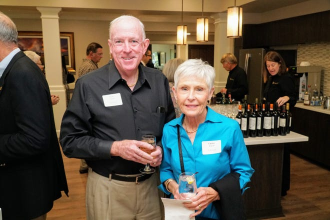 Tidewell Hospice volunteers Terry and Colette Purcell.