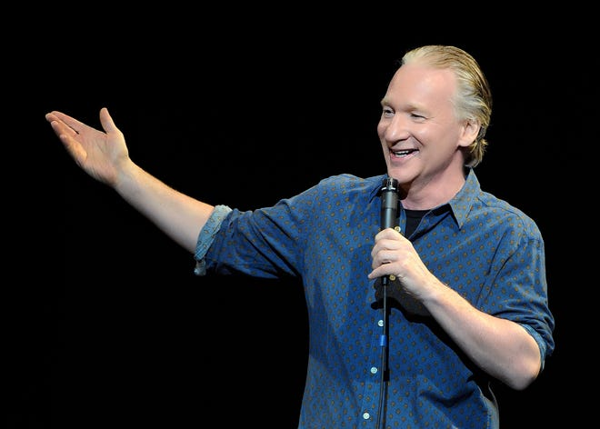 """Bill Maher, the comedian and host of HBO's """"Real Time with Bill Maher,"""" is set to visit Sarasota's Van Wezel Performing Arts Hall on June 20."""