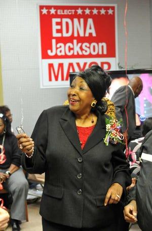 Former Savannah Mayor Edna Jackson is considering a run fo rthe Georgia House of Representatives.