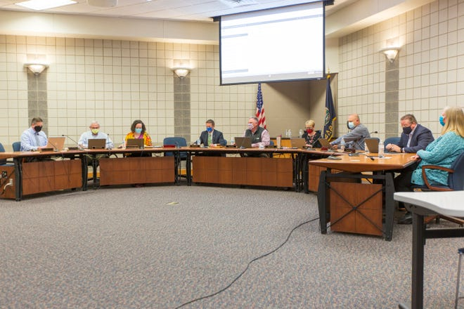 The Auburn-Washburn Board of Education on Monday rejected a Washburn Rural High School parent's appeal to remove the district's mask requirement.