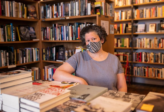 Bedlam Book Cafe owner Nicole DiCello has created a monthly membership share program for loyal customers.
