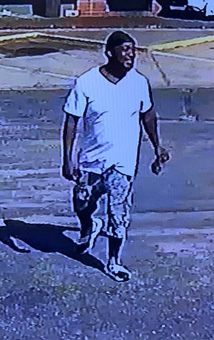 Do you know this man? Lawmen want to speak to him in a shooting at a Gillespie Street motel on Monday afternoon.